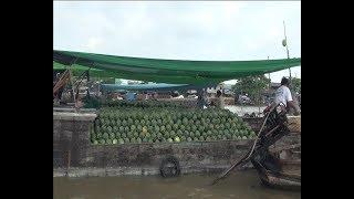 Приключения капитана Врангеля  дельта Меконга, лодки с глазами и плавучие рынки