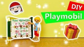 Adventskalender selber machen für Playmobil | Kleiner Schoko Kalender für Puppen, Barbie | DIY Idee