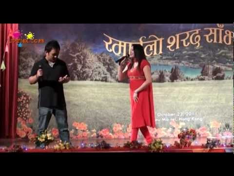 Aadhi Sari Timro Maya- Nepali Song By Shyam Gurung & Sharada Gurung
