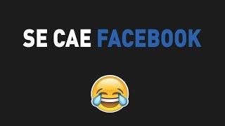 FACEBOOK CAE Y NO SE DESCARTAN ATAQUES CYBERNETICOS