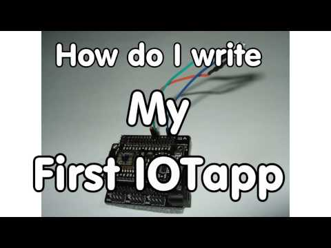 #109 How to write your first IOTapp for the ESP8266
