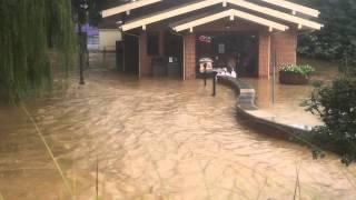 James Madison University Flood of 2015!
