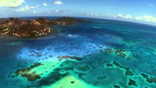 ISLA PROVIDENCIA y Santa Catalina COLOMBIA desde el aire con Drone