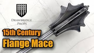 Making a medieval mace: how to forge flange mace shows step by make mace! using basic metal working tools all the steps in turn...