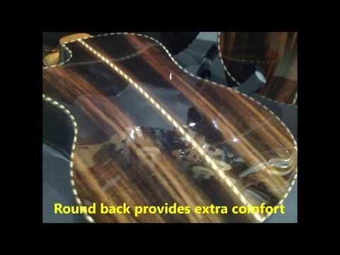 "PSI Ukuleles Standard Series - PSI STD ""Classical"" Tenor w/ Solid Cedar & Ebony Cutaway"