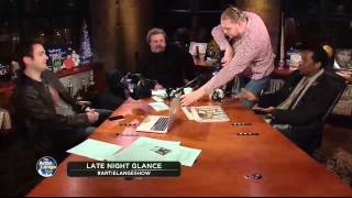 The Artie Lange Show - Orlando Jones (Late NIght Glance) - In The Studio