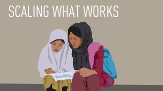 Scaling What Works: Global Partnership for Afghanistan (2006)