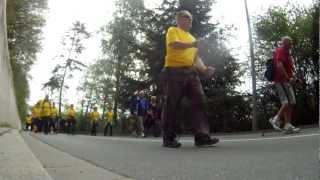 Sonneberger Gesundheitstag 05.05.2012 - Nordic Walking mit Heike Drechsler