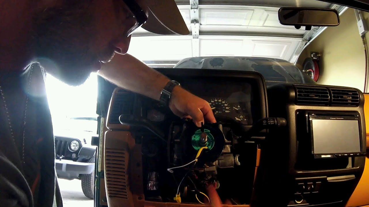 Jeep Tj Clock Spring Wiring Diagram Wrangler Headlamp Episode 121 Replacement Youtube Rh Com Headlight Stereo