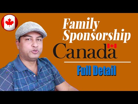 Canada Opens Family Sponsorship