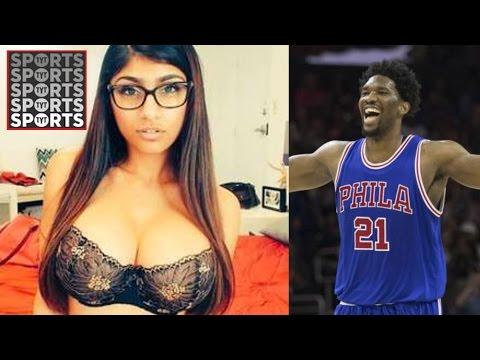 Joel Embiid Is The King Of Social Media Takes Down Mia Khalifa