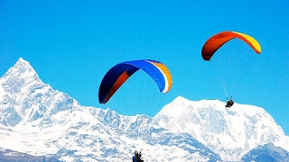 Paragliding in Pokhara  | Sarangkot View | Adventure in Nepal