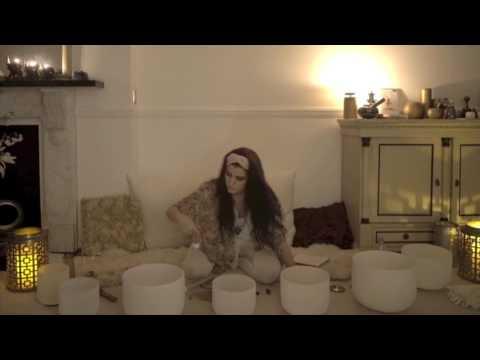 Harriet Emily - Crystal Singing Bowl Sound Healing