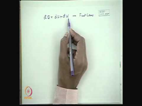 Mod-01 Lec-28 Thermodynamic Relations and Speed of Sound