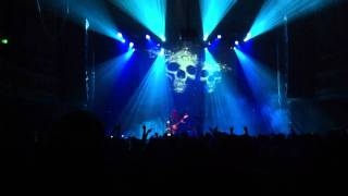 Arch Enemy, San Francisco, September 2011, Michael Amott guitar solo