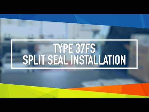 John Crane T37FS Split Seal Installation Video
