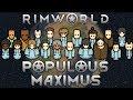 [32] Starting Clothing Production/Storage Area | RimWorld Populous Maximus