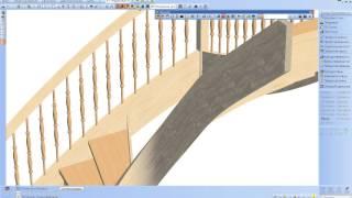 Построение лестниц в программе SEMA