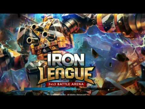 Liga de Ferro (iron league) gameplay - New Moba