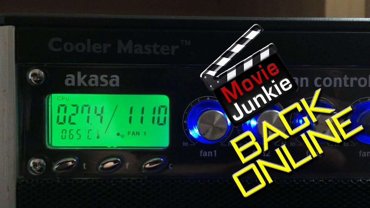 Movie Junkie, BACK ONLINE