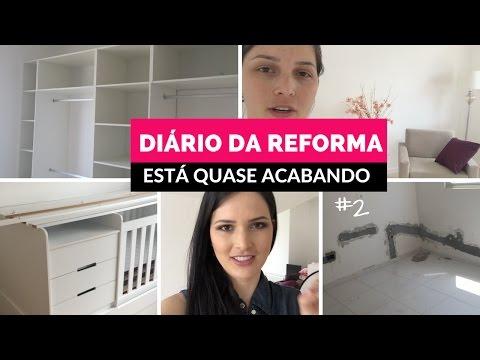 DIÁRIO DA REFORMA #2 - JÁ TA QUASE ACABANDO! por Julia Doorman