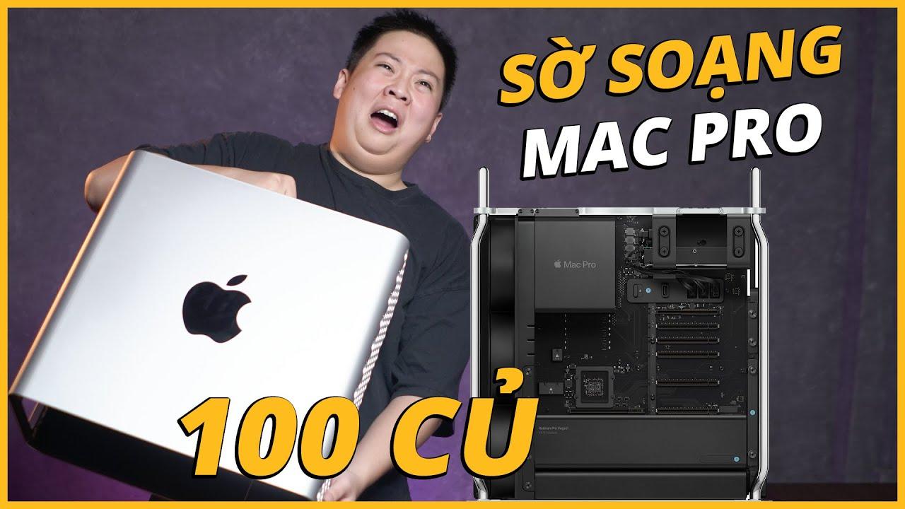 Sờ Soạng Bộ Pc 140 Củ của Apple: Mac Pro 2019