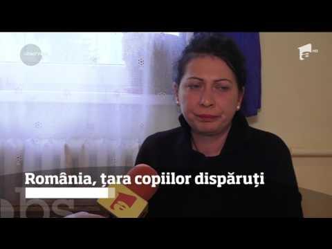 În România, trei copii dispar zilnic de lângă părinţi. Iar anual, peste 3.000 ajung...