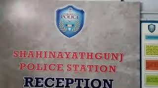 ABDUL NAYEEM SPOT DEATH IN ROAD ACCIDENT SHAHINAYATH GUNJ POLICE STATION LIMITS ....NEWS14