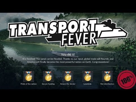 Transport Fever - America - 03 - Panama Canal - Step by Step Walkthrough