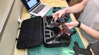 LHI QAV 250 Drone Quadcopter and RadioLink AT9 Transmitter