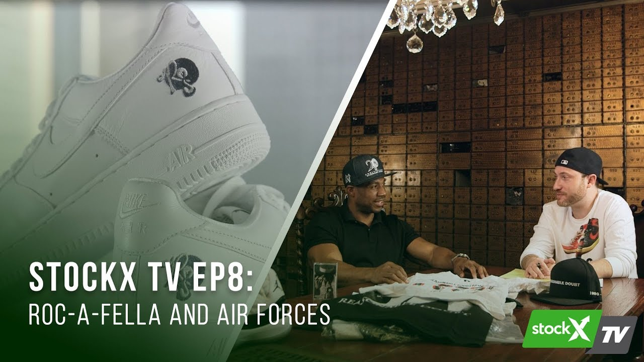 StockX TV Ep. 8 – Roc-A-Fella and Air Forces - YouTube a86f0f148473