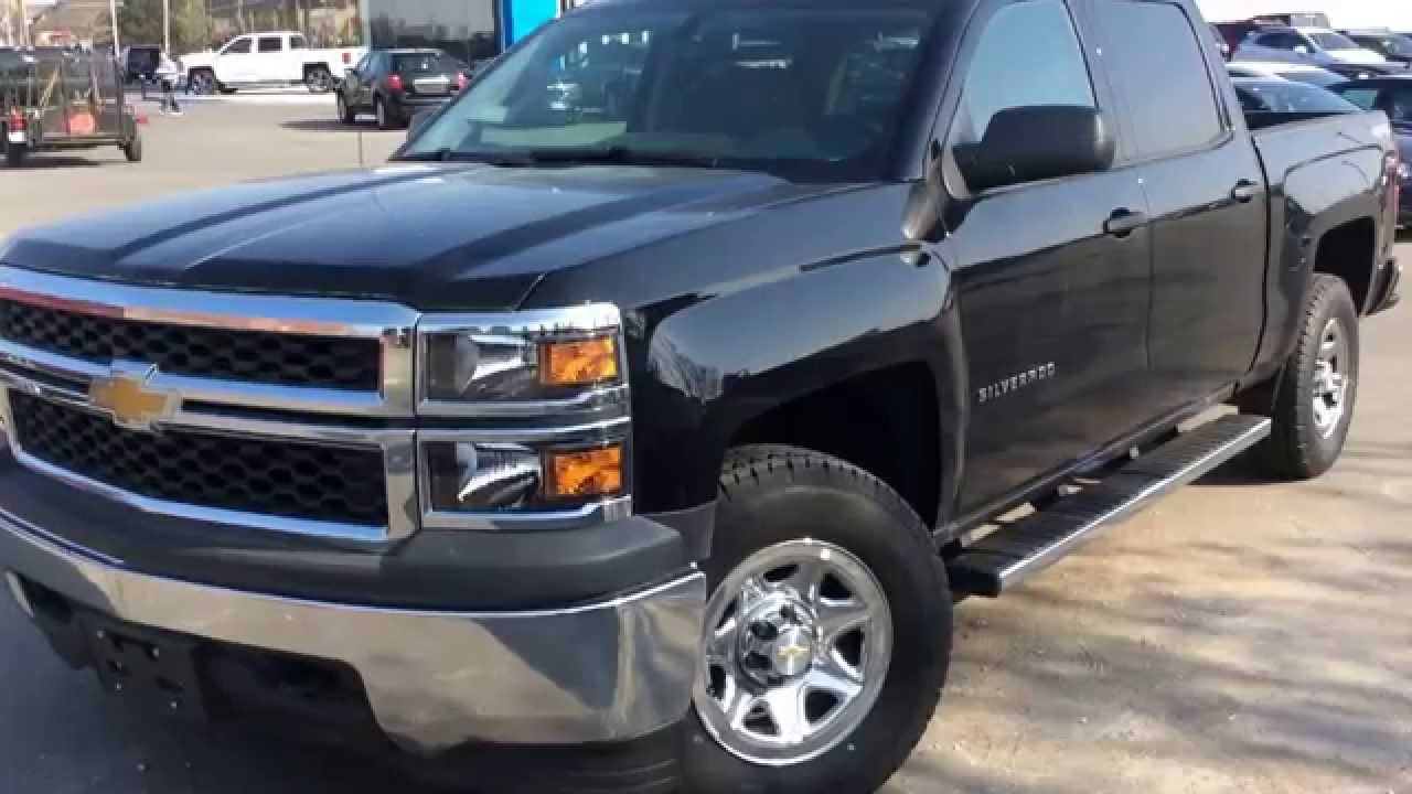 2014 chevrolet silverado 1500 work truck crew cab 140373 youtube. Black Bedroom Furniture Sets. Home Design Ideas