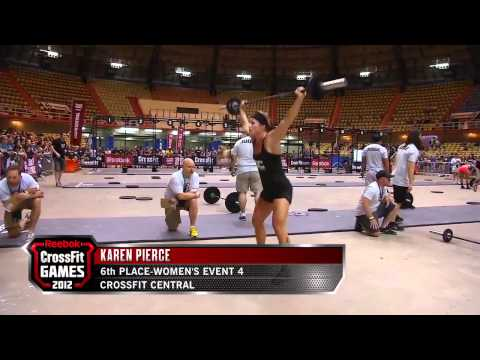 2012 Regionals - Event Summary: South Central Women's Workout 4