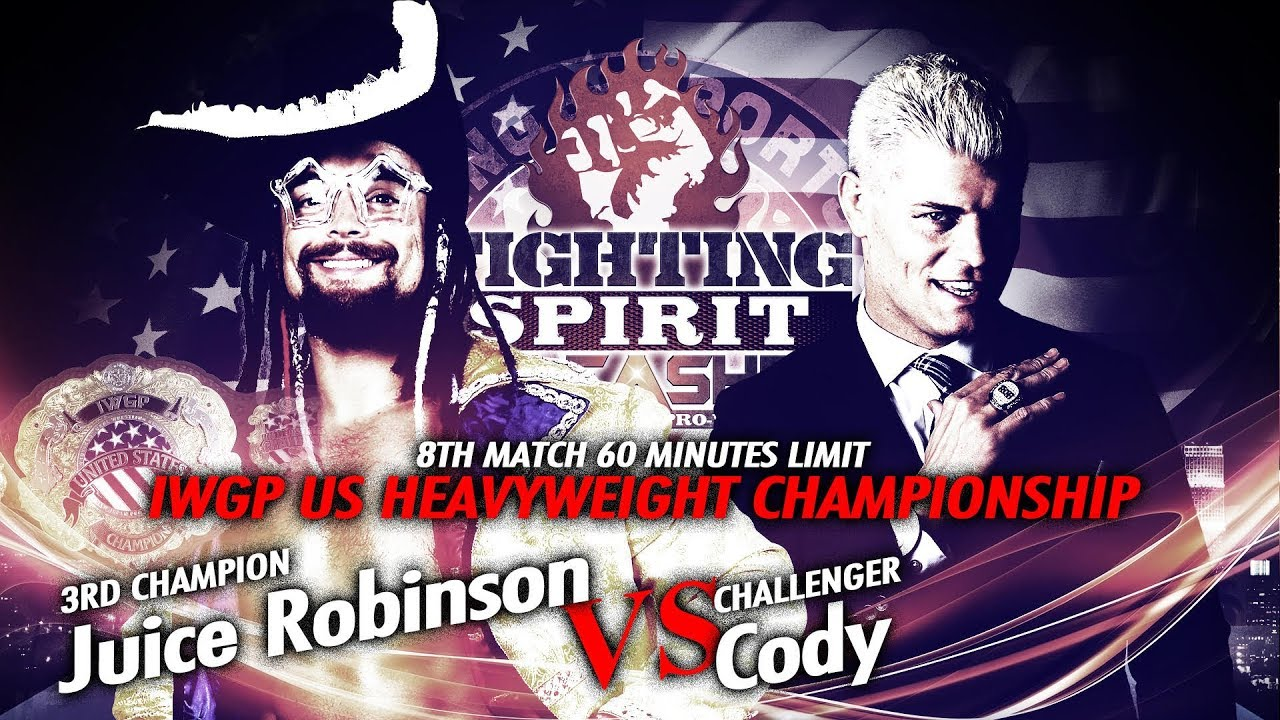 Juice Robinson vs Cody - IWGP US Championship match - Trailer - YouTube