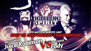 Juice Robinson vs Cody - IWGP US Championship match - Trailer