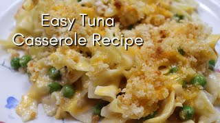 Easy Tuna Casserole Recipe / Quarantine Cooking