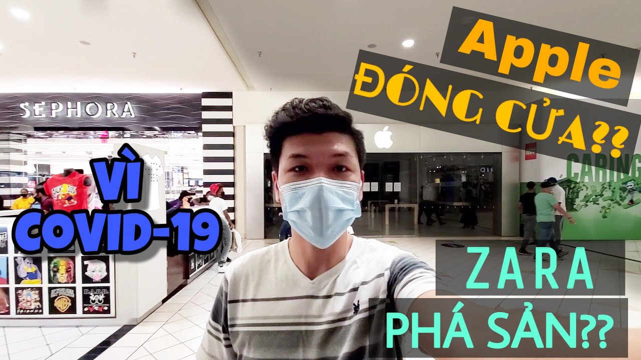Photo of [Covid 19 shopping vlog] Zara, Apple, Victoria's Secret…PHÁ SẢN? | CLOSE STORES?