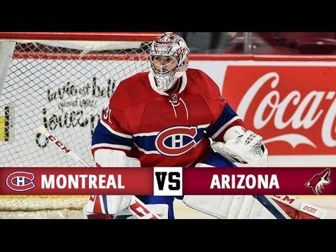 Montreal Canadiens vs Arizona Coyotes   Season Game 4   Highlights (20/10/16)
