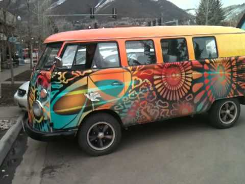 watch the hippie vw bus go youtube. Black Bedroom Furniture Sets. Home Design Ideas