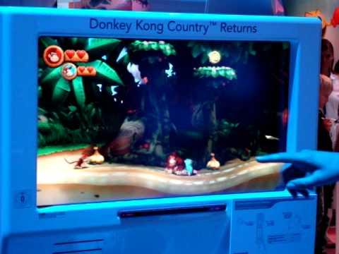 Donkey Kong Country Returns - Gamescom 2010 gameplay 2