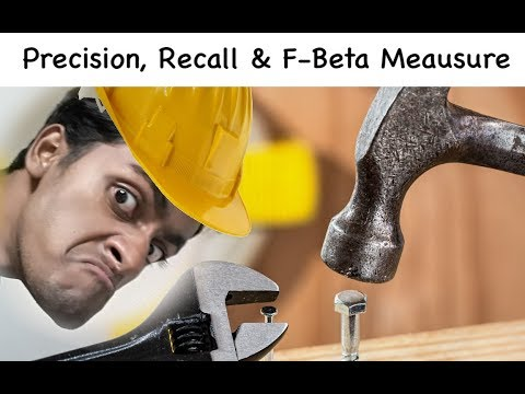 Precision, Recall & F-Measure