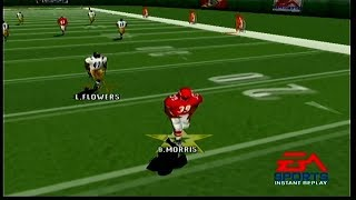 Madden NFL 2000 Steelers vs Chiefs Part 1