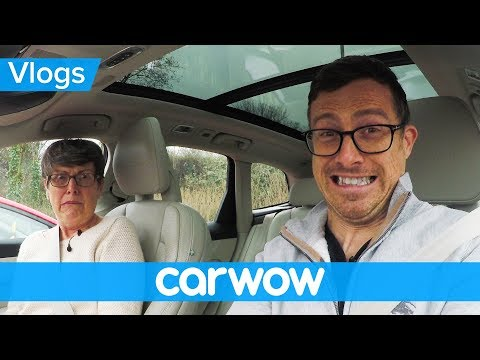 Scaring my mom with Volvo's latest self-driving tech | Mat Vlogs