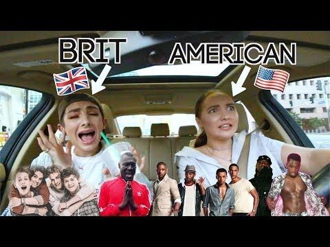 American Listens to British Music for the First Time ft. Kenzie Elizabeth