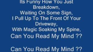 The Killers - Read My Mind Lyrics