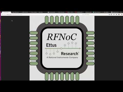 RFNoC Getting Started Video Tutorial