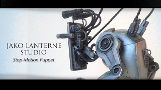 "Stop-motion puppet for the NFB film ""Nadine"""