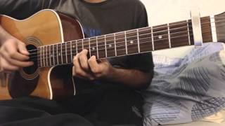 coldplay - clocks - fingerstyle guitar cover