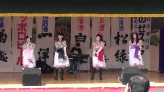 2011年5月5日弘前さくら祭りでのライブ。1曲目です。「バスターミナル...