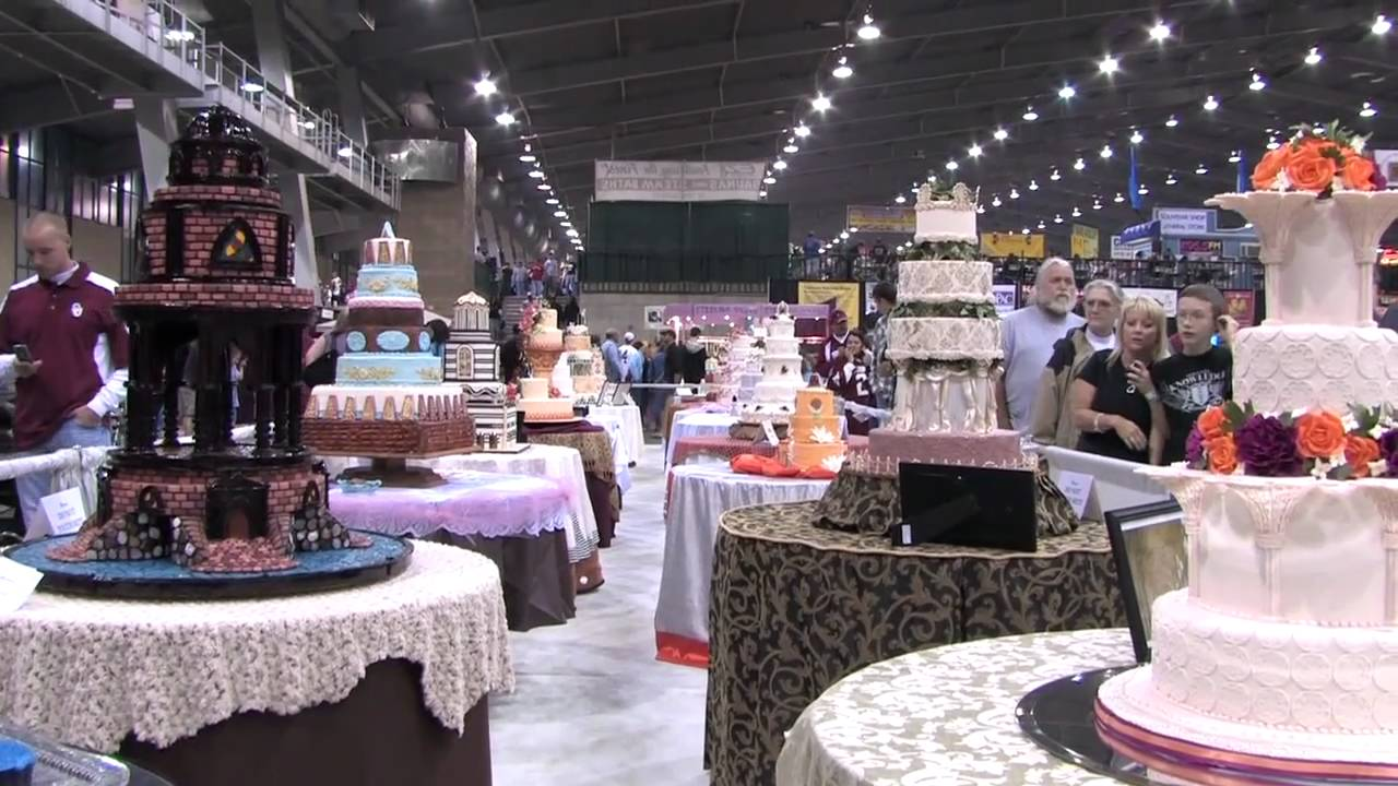 Decorating Shows Biggest Cake Competition Oklahoma State Sugar Art Show  Youtube